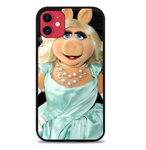 Custodia Cover iphone 11 pro max the muppets miss piggy Y0830 Case