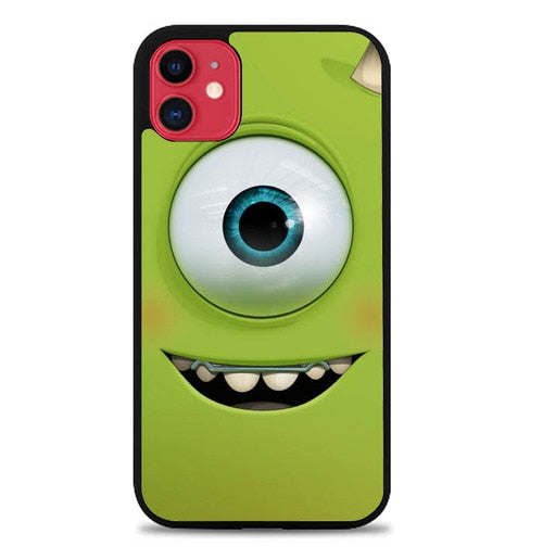 Custodia Cover iphone 11 pro max monsters inc face WALLPAPER Y1294 Case