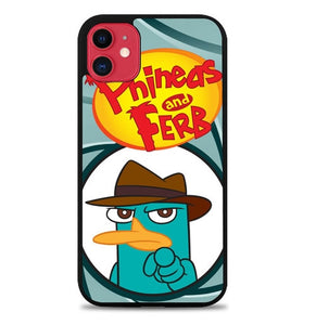 Custodia Cover iphone 11 pro max perry platypus W3175 Case