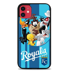 Custodia Cover iphone 11 pro max THE LOONEY TUNES royals W3187 Case