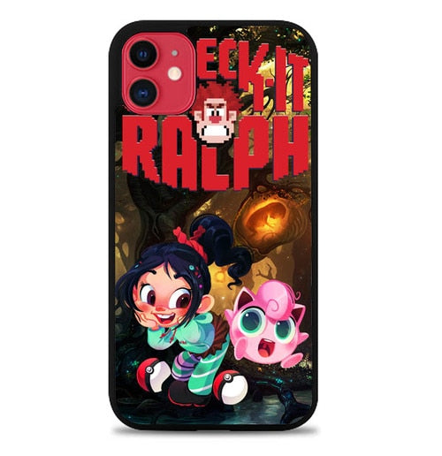 Custodia Cover iphone 11 pro max wreck it ralph W3806 Case