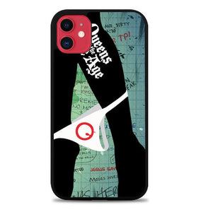 Custodia Cover iphone 11 pro max queen of the stone age W3828 Case