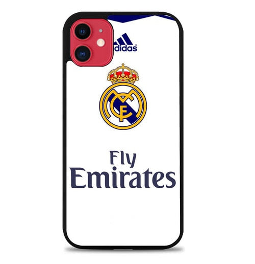 Custodia Cover iphone 11 pro max Real Madrid W4801 Case