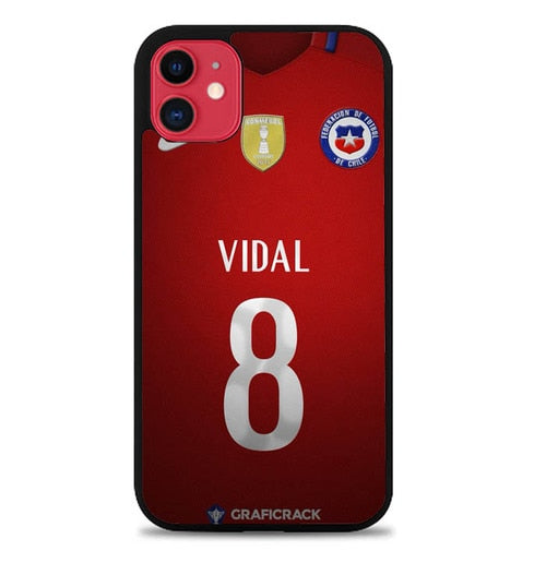 Custodia Cover iphone 11 pro max Chile Football Federation JERSEY W5012 Case