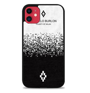 Custodia Cover iphone 11 pro max Marcelo Burlon County Of Milan W5317 Case
