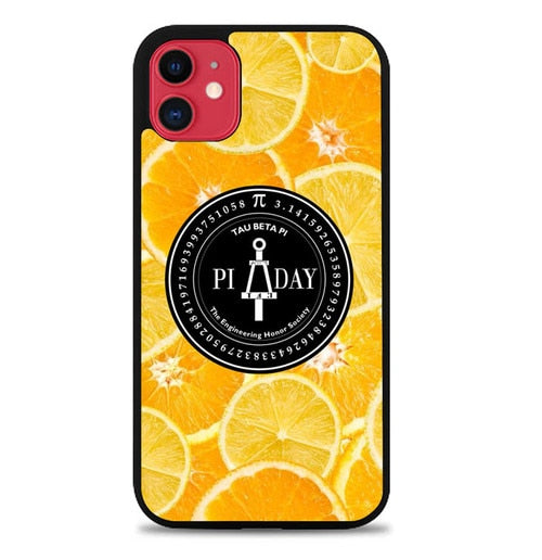 Custodia Cover iphone 11 pro max poster pi day W5418 Case