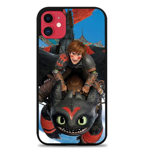 Custodia Cover iphone 11 pro max how to train your dragon 3 W5746 Case