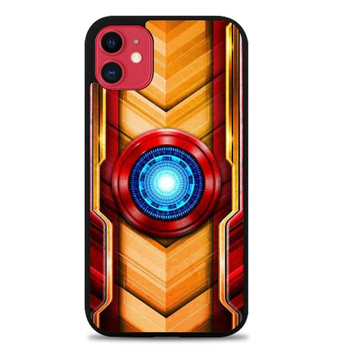 Custodia Cover iphone 11 pro max Iron Man W5773 Case