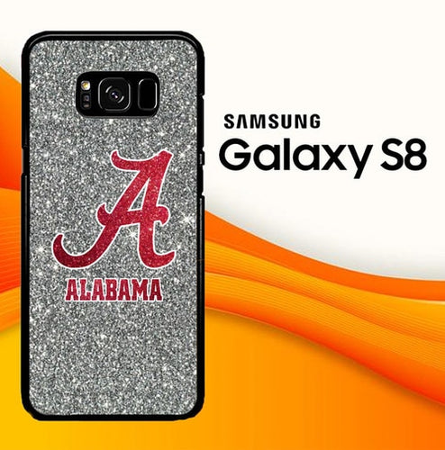 Custodia Cover samsung galaxy s8 s8 edge plus alabama tide W8726 Case