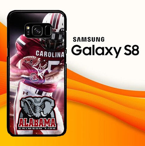 Custodia Cover samsung galaxy s8 s8 edge plus alabama football W8761 Case
