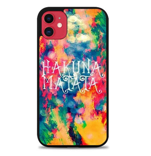 Custodia Cover iphone 11 pro max hakuna matata W9002 Case