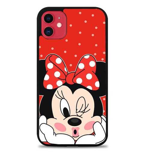 Custodia Cover iphone 11 pro max Minnie mouse WY0008 Case