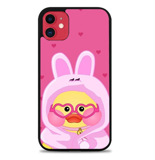 Custodia Cover iphone 11 pro max line sally duck WY0038 Case