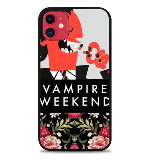 Custodia Cover iphone 11 pro max Vampire Weekend Flower Y2613 Case