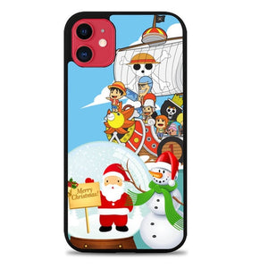 Custodia Cover iphone 11 pro max ONE PIECE christmas Y2916 Case
