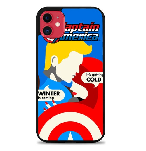 Custodia Cover iphone 11 pro max Captain America ART Y3025 Case