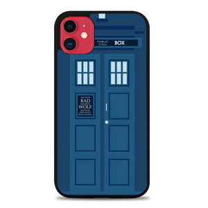 Custodia Cover iphone 11 pro max Police Box E0129 Case