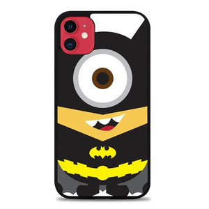 Custodia Cover iphone 11 pro max Batman 2 Minion Cartoon E1103 Case