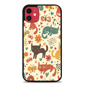 Custodia Cover iphone 11 pro max cartoon cat - pattern E1136 Case