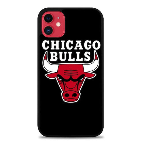 Custodia Cover iphone 11 pro max Chicago Bulls Wallpaper Sports E1142 Case