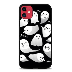 Custodia Cover iphone 11 pro max Helloween Boo E1422 Case