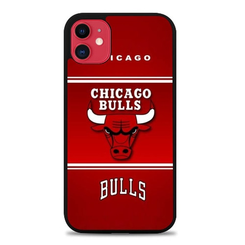 Custodia Cover iphone 11 pro max Chicago Bulls Burlap E1576 Case
