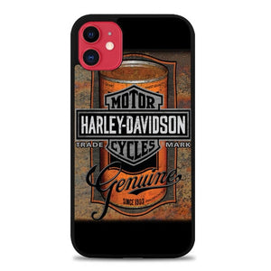 Custodia Cover iphone 11 pro max Harley Davidson Oil E1712 Case