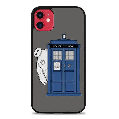 Custodia Cover iphone 11 pro max Doctor Who Baymax E1765 Case