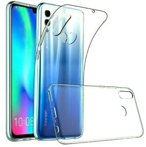 Cover TRASPARENTE per HUAWEI P SMART 2019 / HONOR 10 LITE + VETRO TEMPERATO