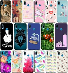Cover custodia case morbida in TPU silicone per ALCATEL 1S 2020 fantasia C