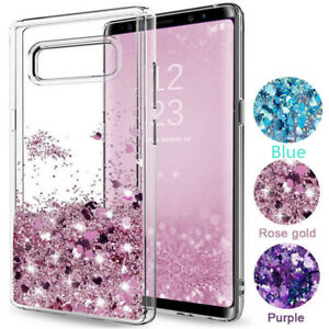 Brillantini Quicksand Gel Trasparente Custodia Cover per Samsung Galaxy  Nota 10