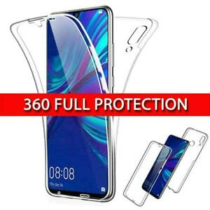 Per Huawei P30 Pro/LITE Y6 Y7 Y9 2019/P SMART 2019 360 ° FULL COVER CUSTODIA  IN SILICONE