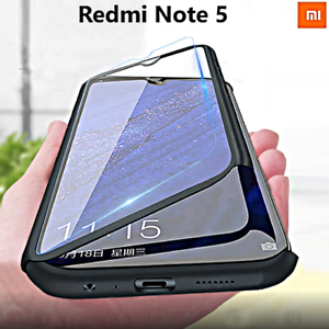 COVER per Xiaomi Redmi Note 5 CUSTODIA Fronte Retro 360° Protezione TOTALE  Case