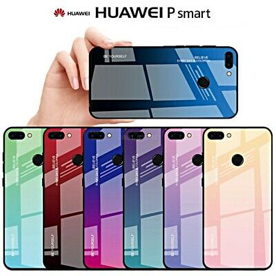 COVER per huawei P SMART 2019 / PLUS PROTEZIONE Gradient Glass + VETRO  TEMPERATO