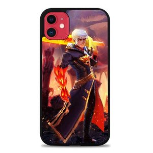 Custodia Cover iphone 11 pro max Alucard Fiery Inferno Skin P0117 Case