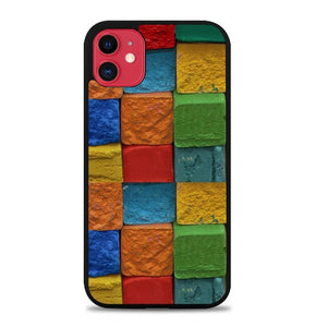 Custodia Cover iphone 11 pro max colorfull wall P0200 Case