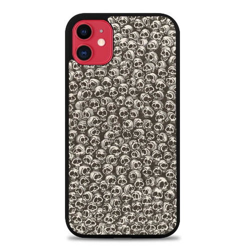 Custodia Cover iphone 11 pro max Skulls P0676 Case
