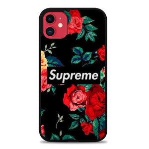 Custodia Cover iphone 11 pro max Supreme Rose P0716 Case