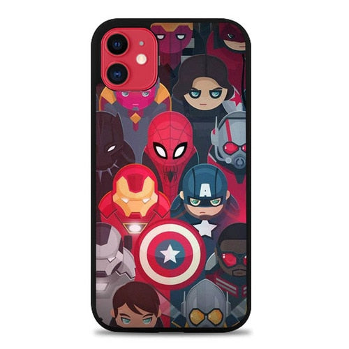 Custodia Cover iphone 11 pro max Marvel Superhero P0735 Case