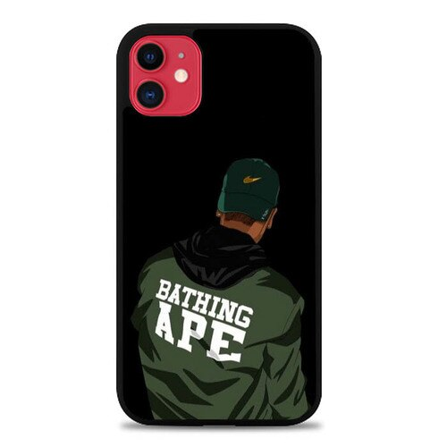 Custodia Cover iphone 11 pro max Bathing Ape P0847 Case