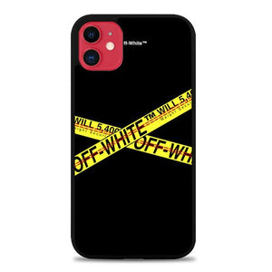 Custodia Cover iphone 11 pro max Off white Do Not Cross P0900 Case