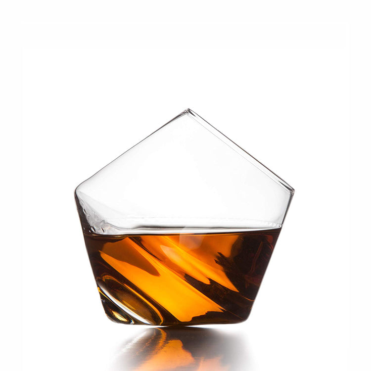 unique rocking whiskey glass cup - drinkware