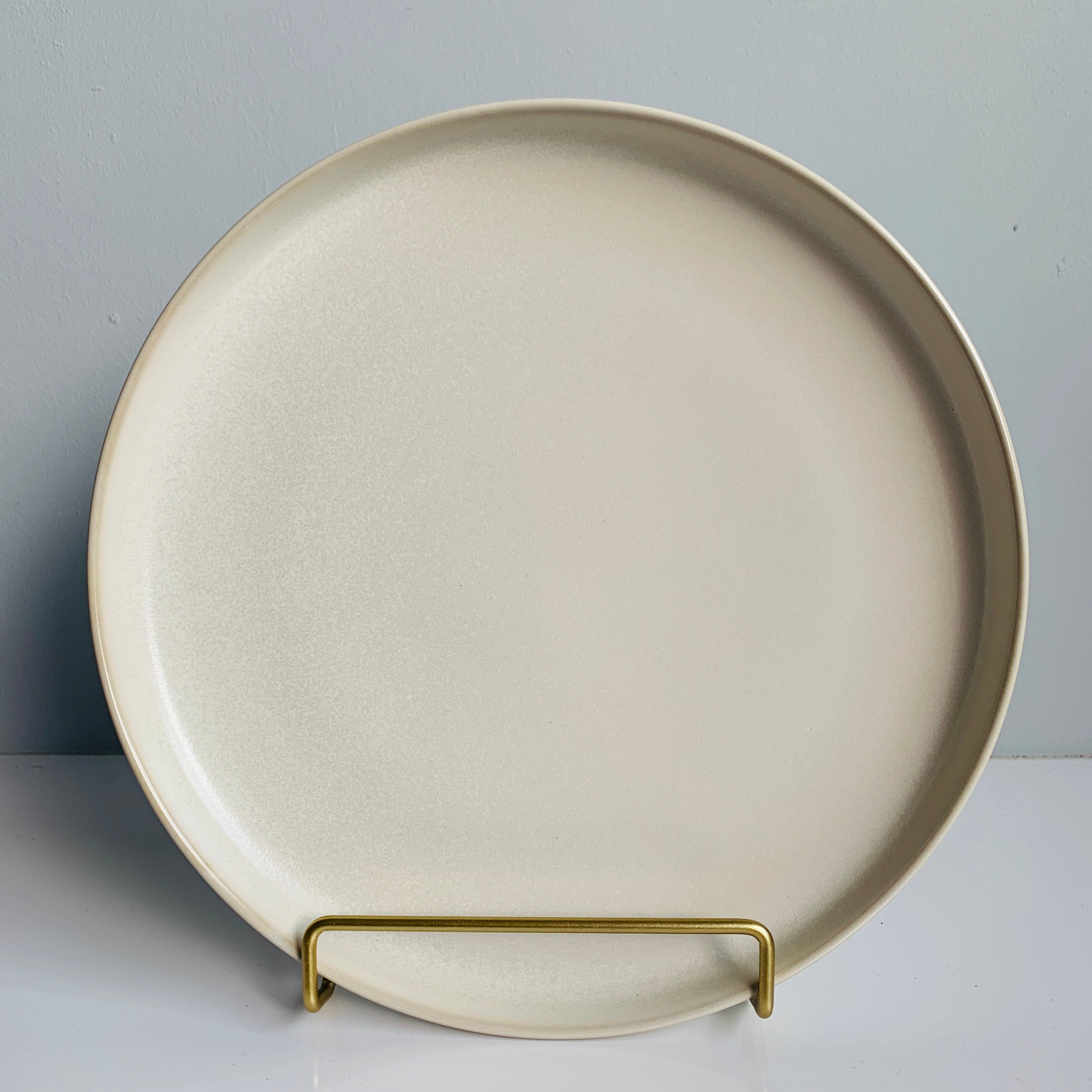 "Base II 10.35"" Sharing Plate (Ivory)"