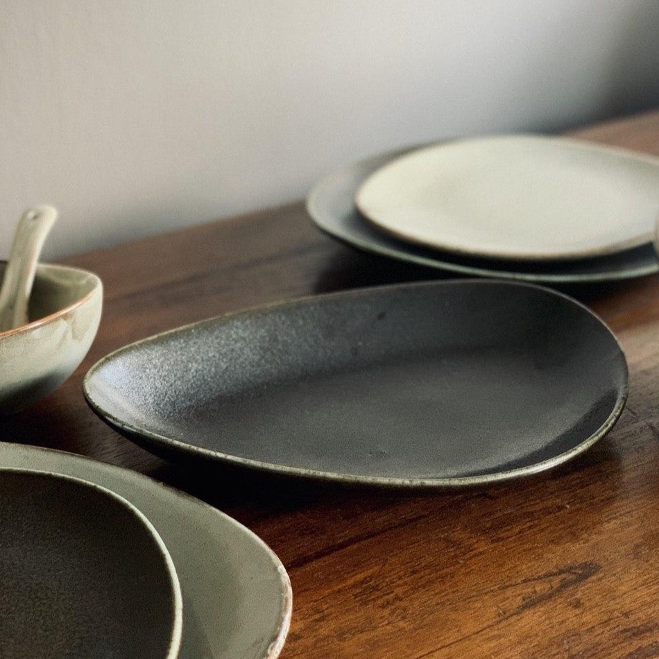 Natón Nordic Dinnerware Collection - Dinnerware Set - Plates, bowls