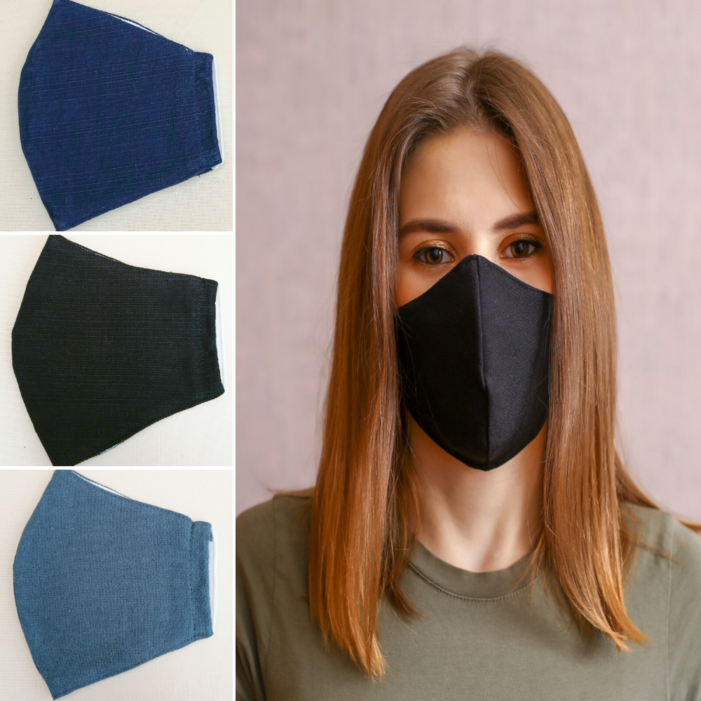 Plain Cotton Masks