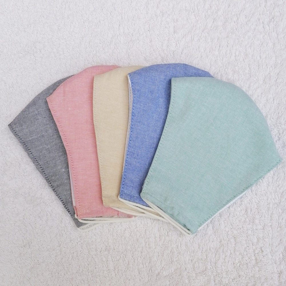 5 Pack Plain Pastels