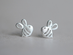 Bumble Bee Stud Earrings by Handmade Dezigns