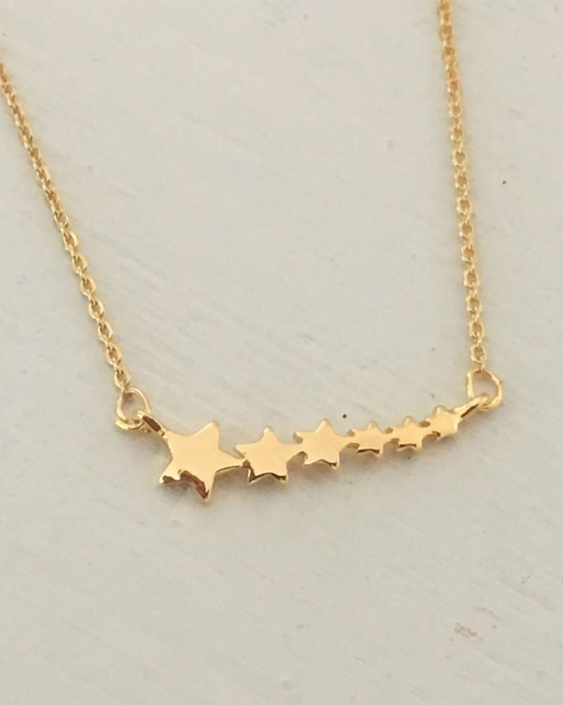 Star Bar Choker Necklace by Handmade Dezigns