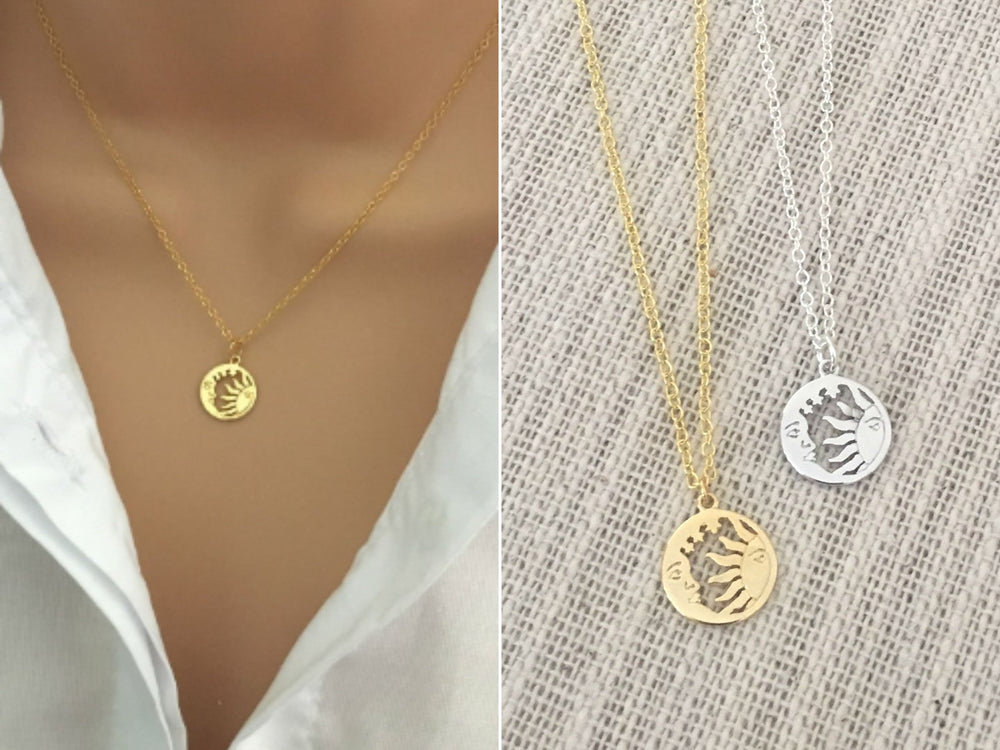 Sun & Moon Necklace /