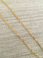 Gold Sparkly Gold Chain Choker by Handmade Dezigns